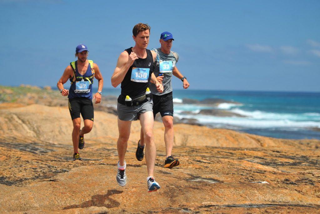 Oli Russell-Cowan Augusta Adventure Fest 17km Trail Running Race