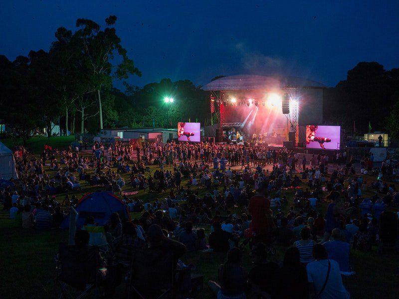 Sydney New Years Eve, Parramatta park
