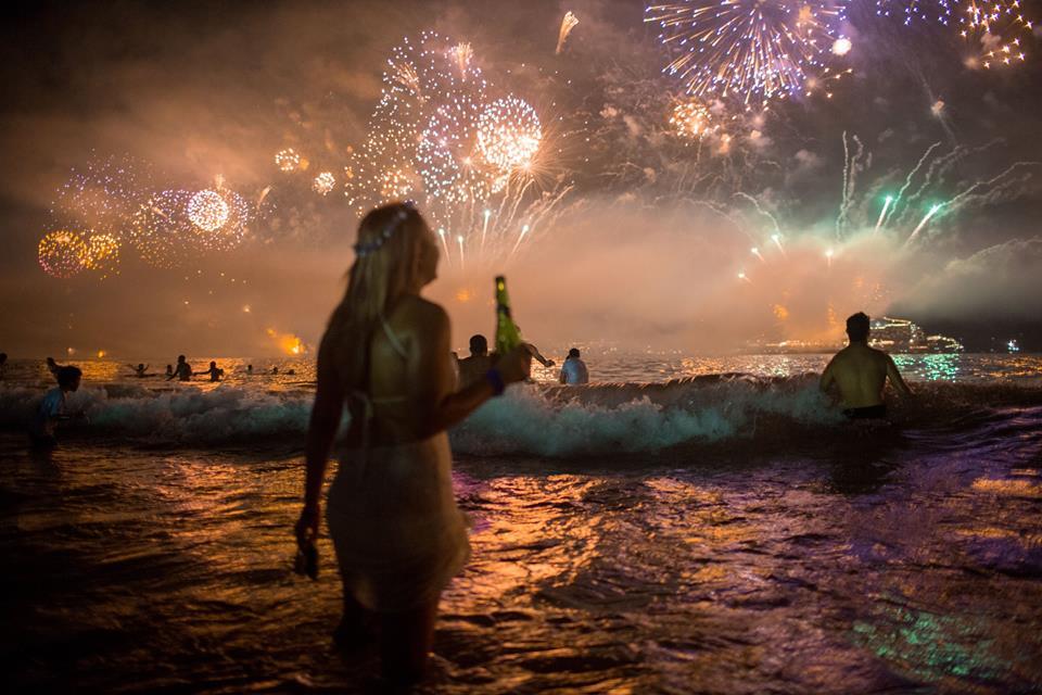 Rio de Janeiro Brazil New Year's Eve