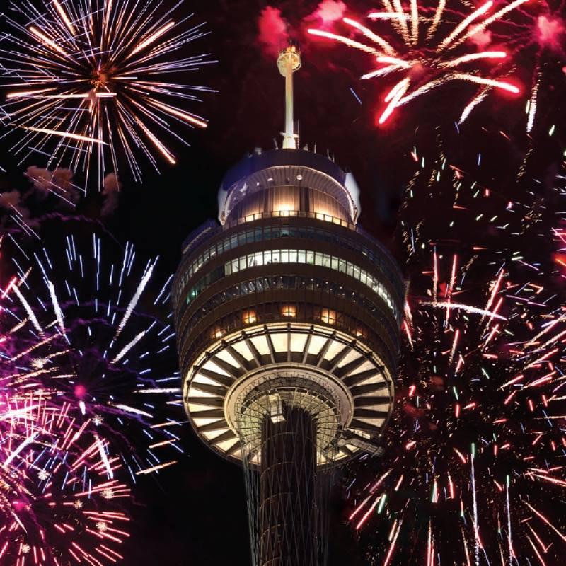 SYDNEY TOWER EYE Sydney New Years Eve