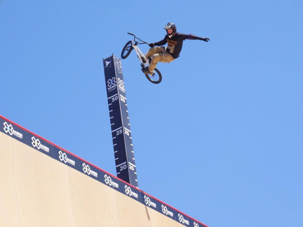 X Games Sydney Skateboard Big Air BMX Qualifier