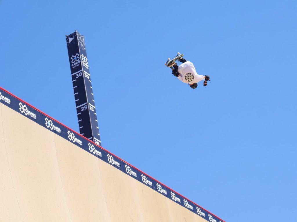 Sydney X Games Skateboard Big Air Qualifier