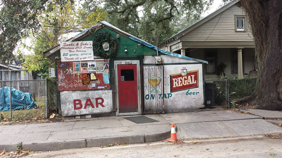 best bars in New Orleans snake and jakes