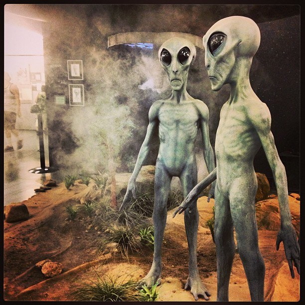 UFO Museum in Rosewell