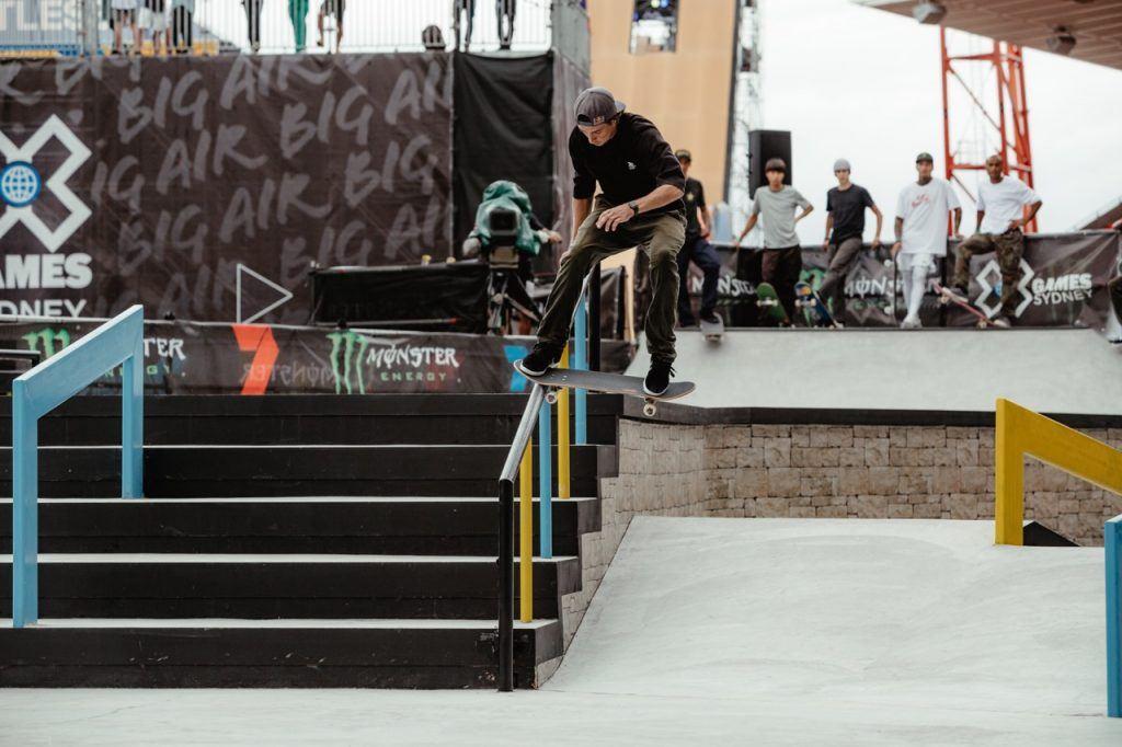 X Games Sydney Skateboarding