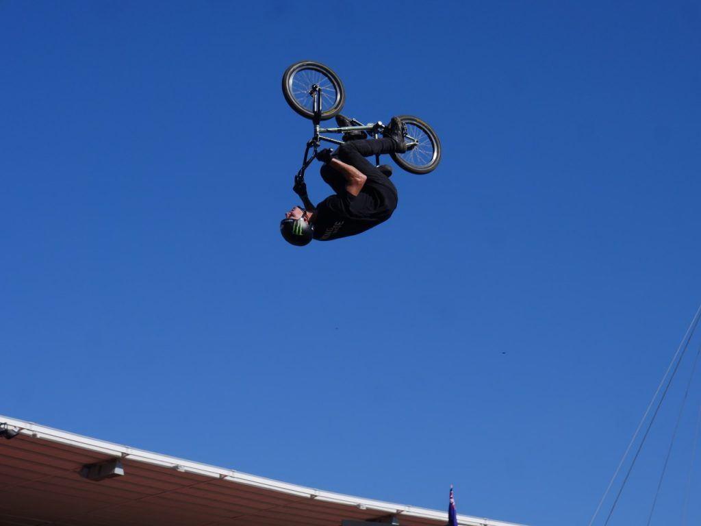 X Games Sydney bmx backflip
