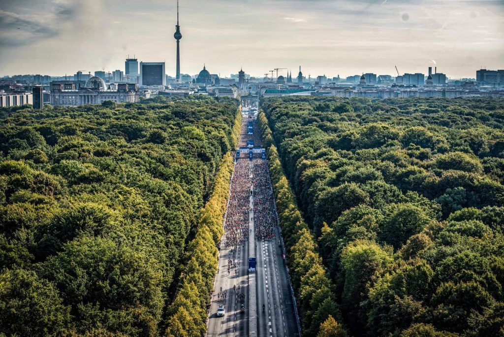 Berlin Marathon is well-known for its world records