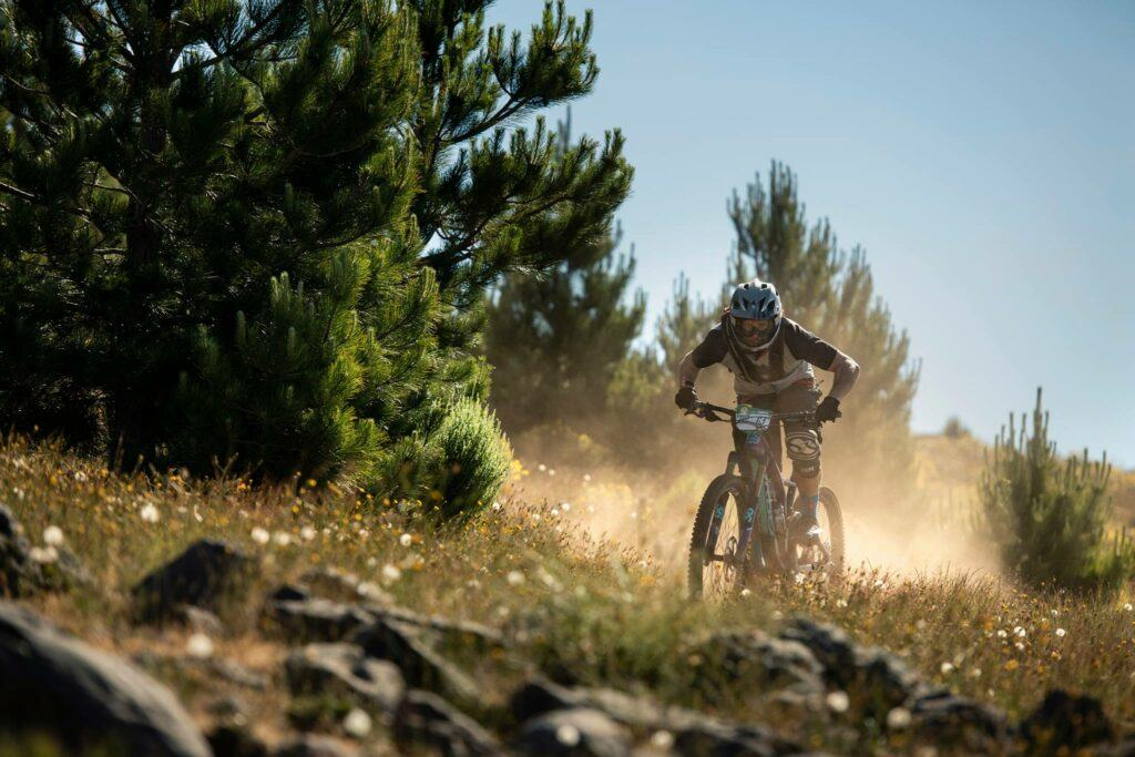 dusty trails at Trans Madeira