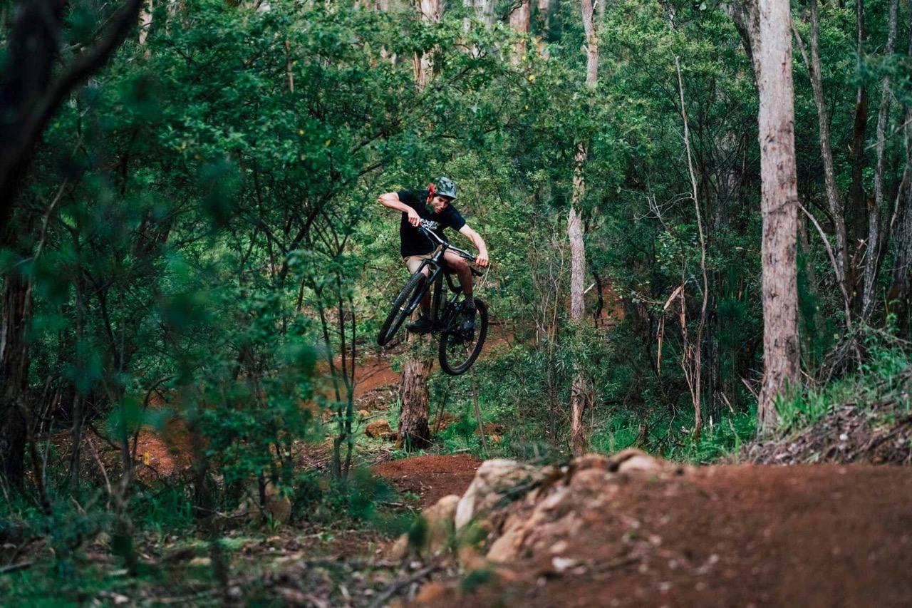 adventures in south west Australia mountain biking margaret river