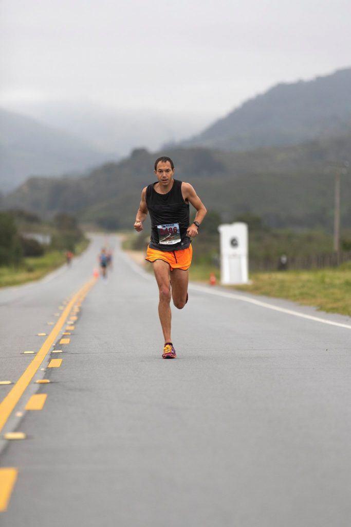 Big Sur Marathon in California, USA
