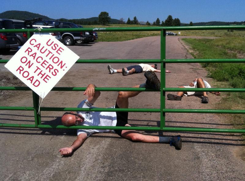 Massanutten Massacre runners
