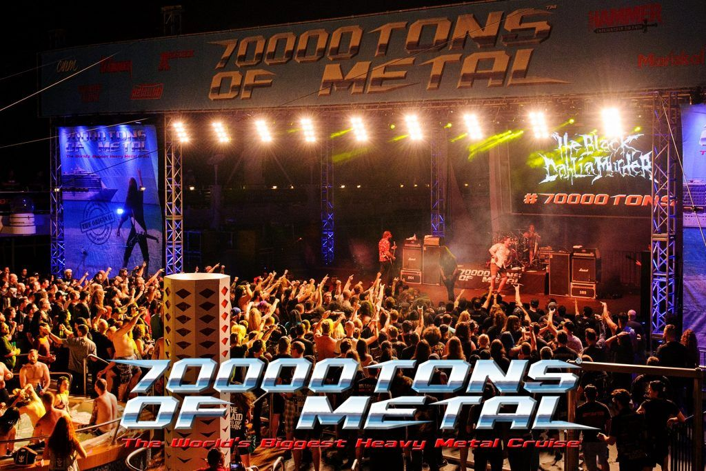 7000tons of metal cruise main stage