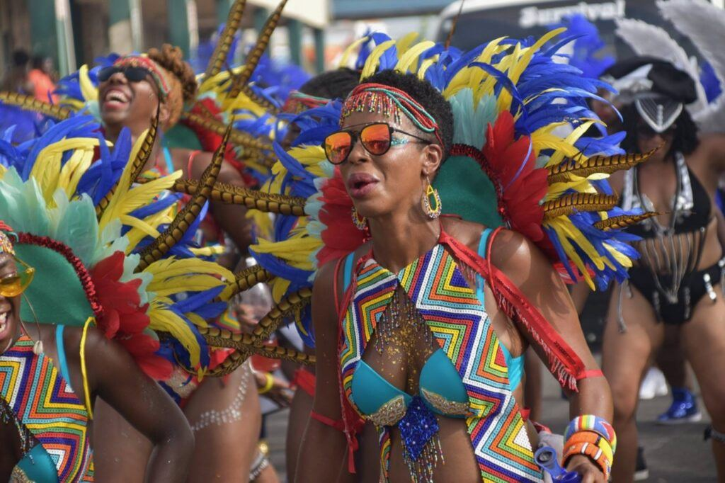 Antigua Carnival parade