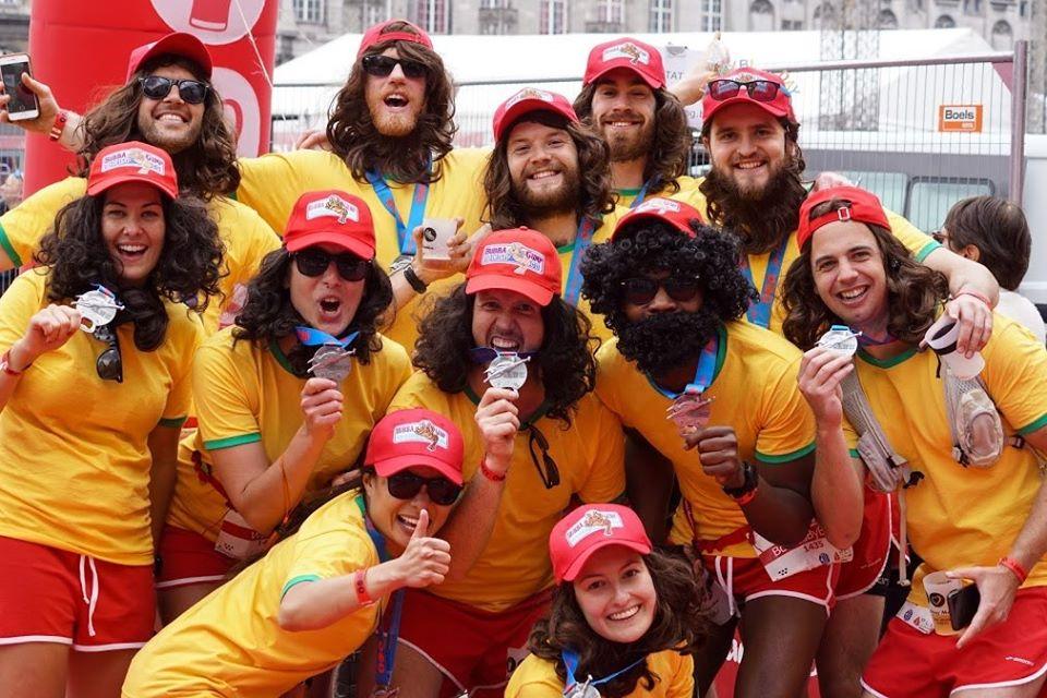 Beer Lovers Marathon runners