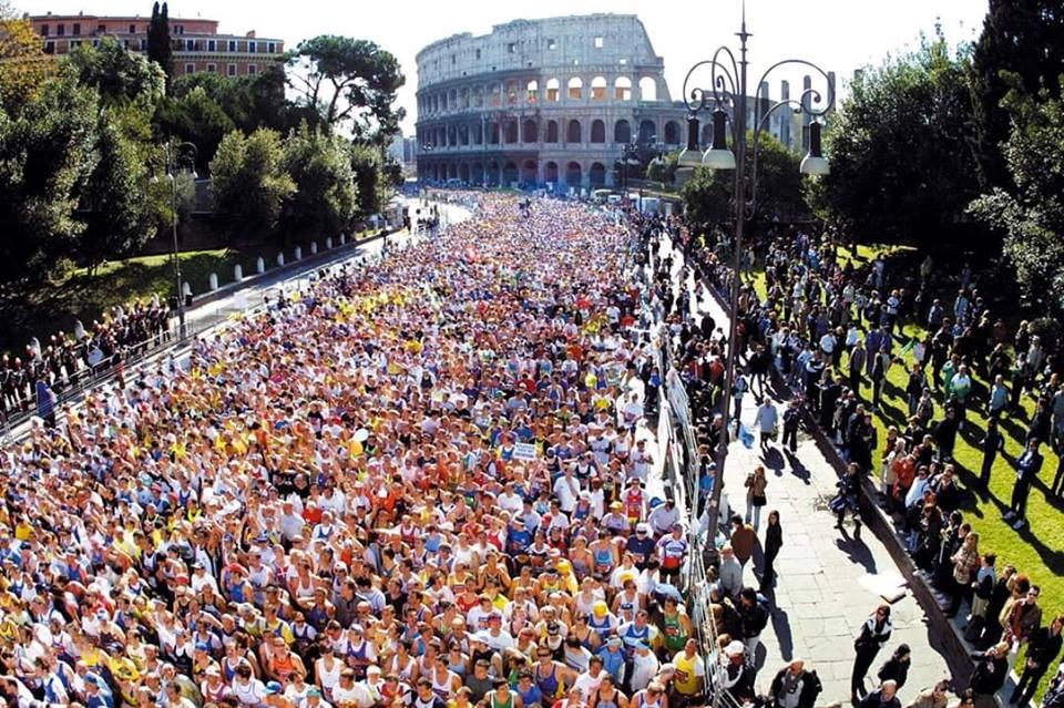 Rome Marathon in Italy