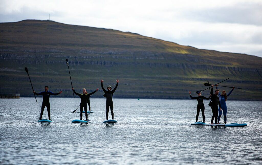 SUP at the Atjan Wild Islands Festival