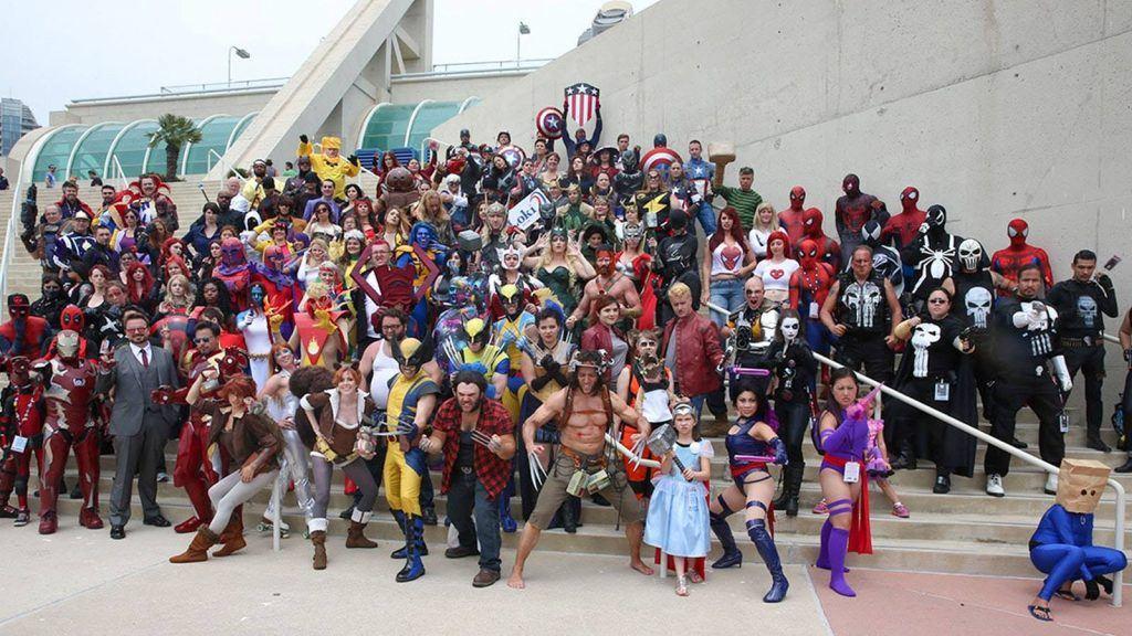 San Diego Comic-con 2019 in San Diego, USA