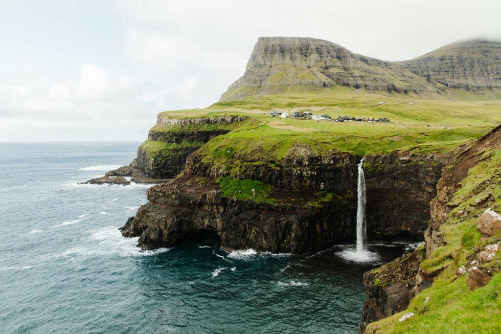 Amazing scenery on Faroe Islands