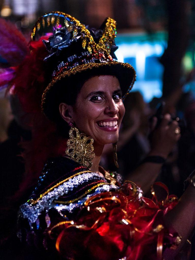 Amazing costumes at the Lisbon festival