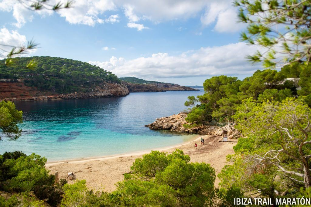 Breathtaking scenery in Ibiza, Spain