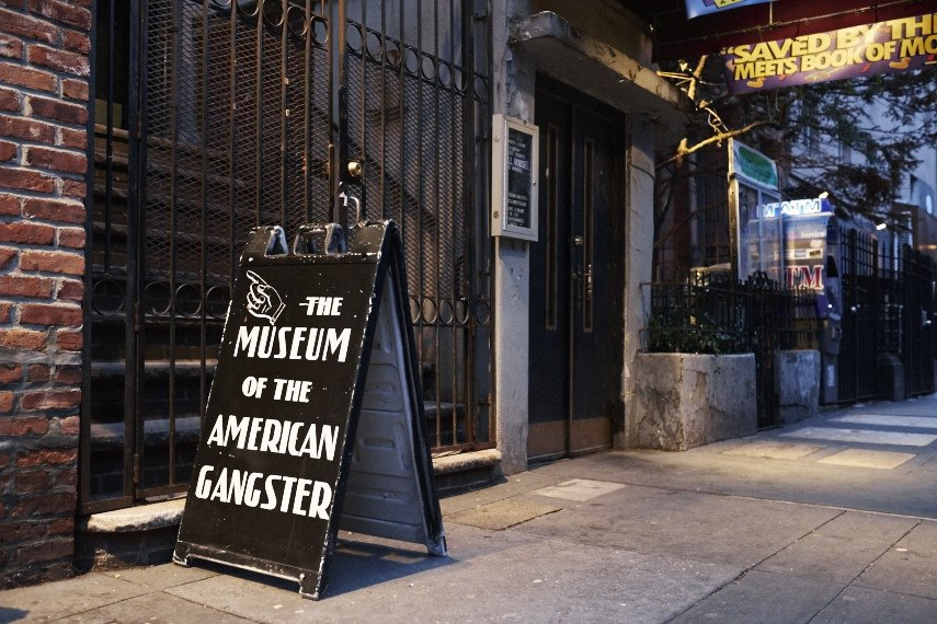 Museums in NYC: Museum of the American gangster in new York city