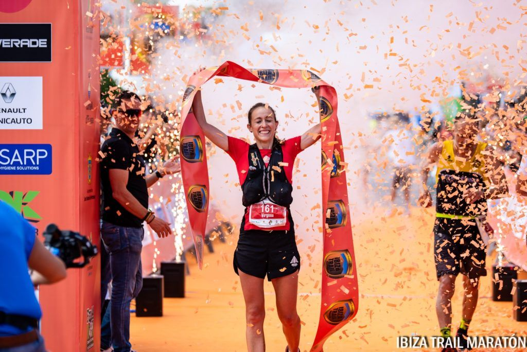 Winning Ibiza Trail Marathon