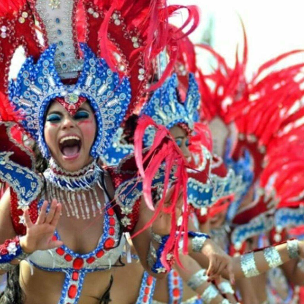 Party time at Barranquilla carnival