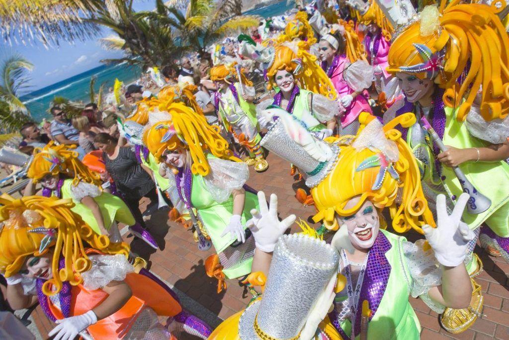 parades at the Gran Canaria Carnival