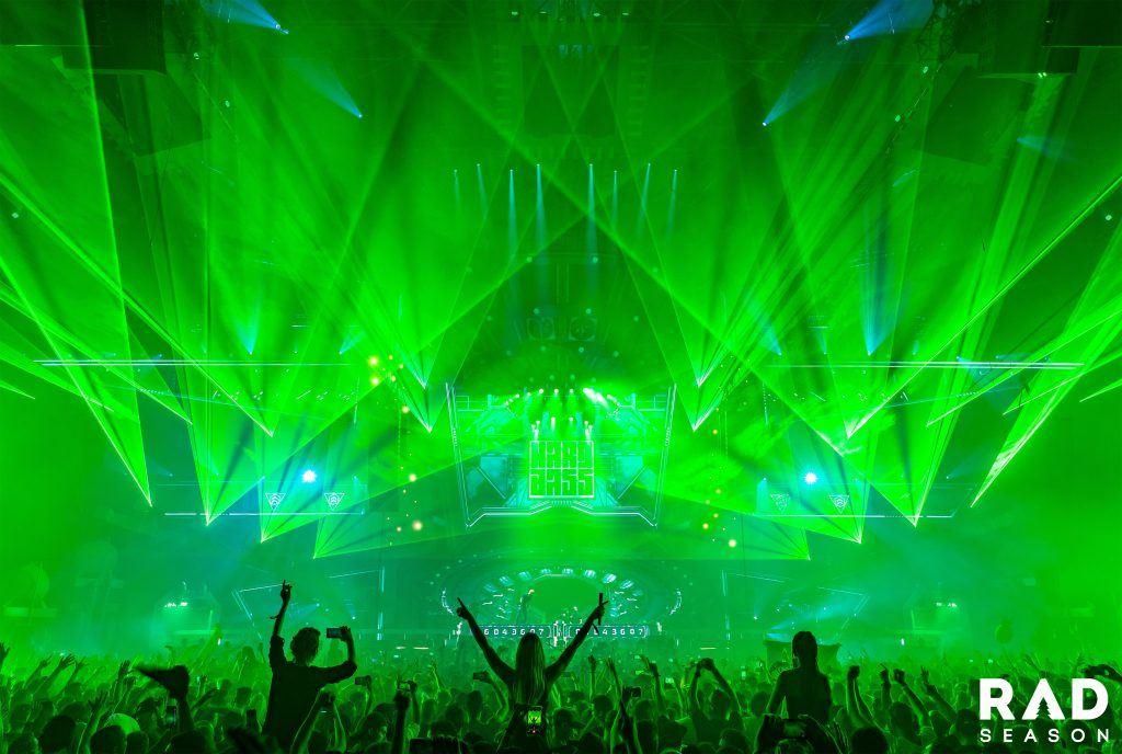 HARD BASS green lights