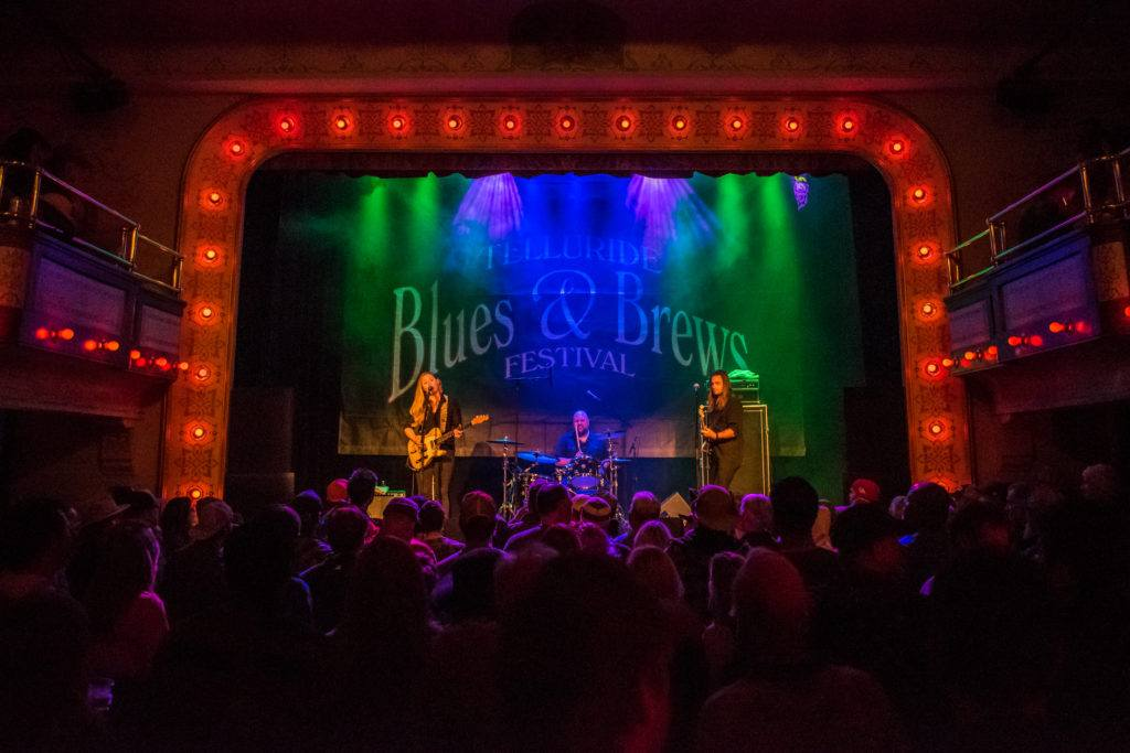 cozy night clubs at Telluride Blues and Brews
