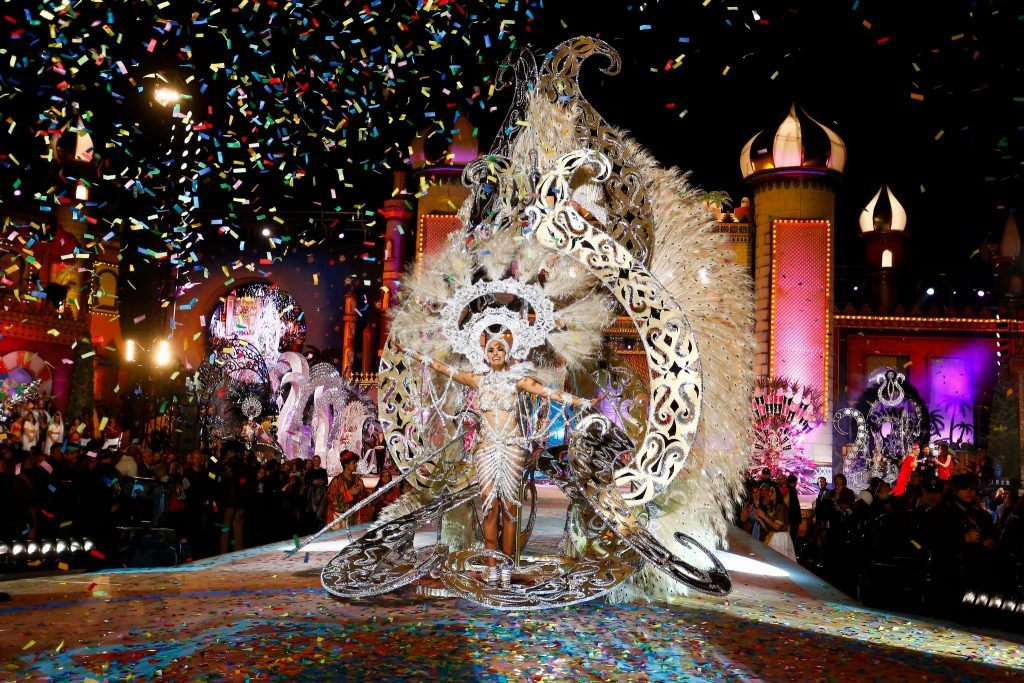 Amazing costumes at the Gran Canaria Carnival