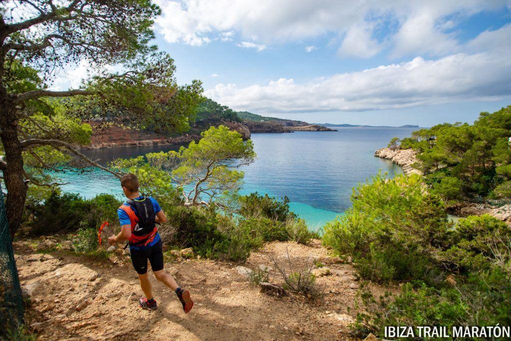 stunning trail running in Ibiza