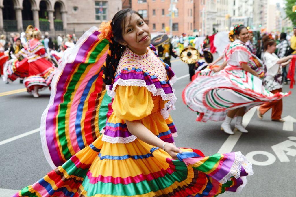 Cinco de Mayo in Puebla close to Mexico city
