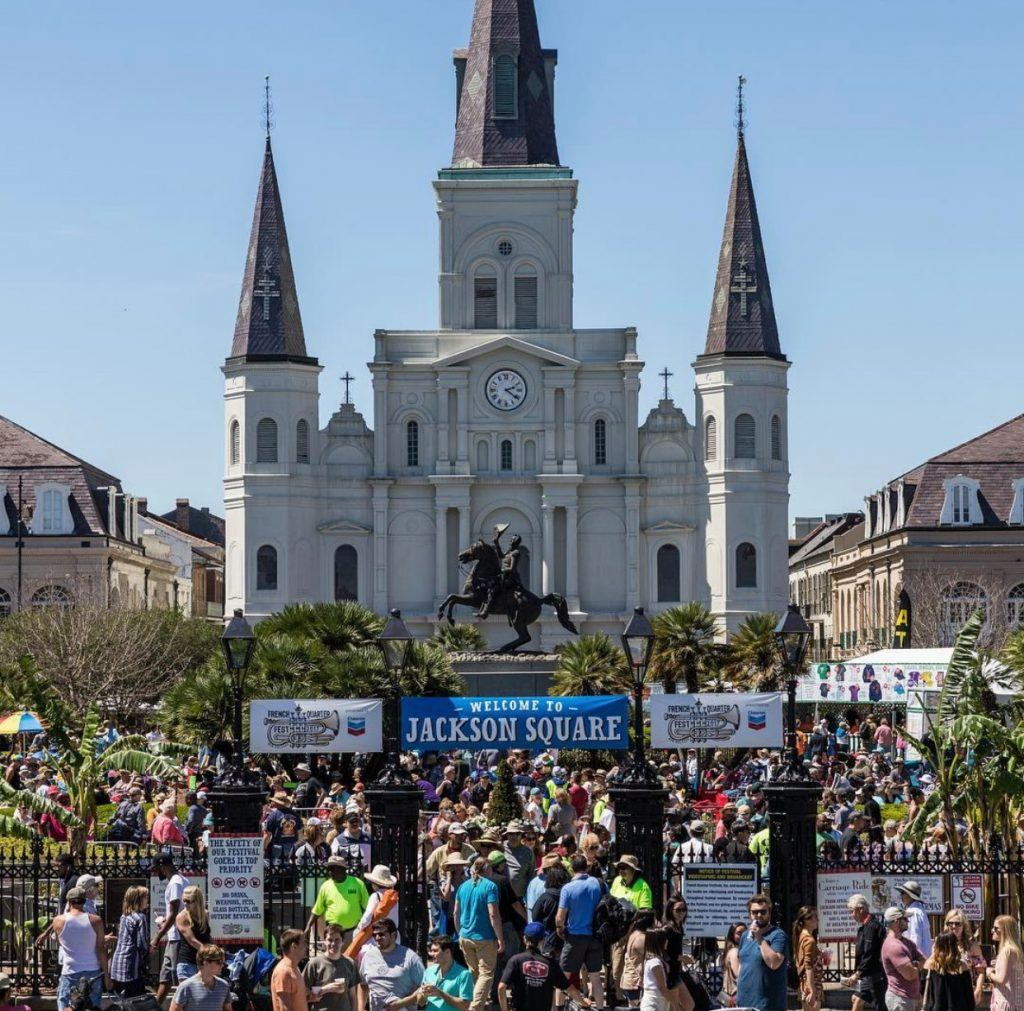 Amazing scenery in New Orleans