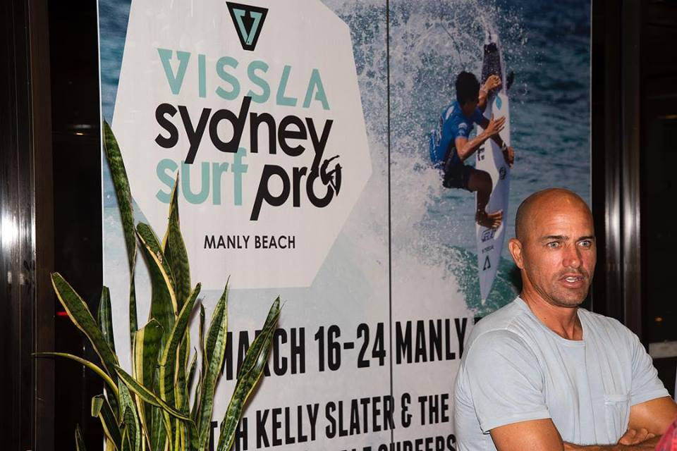 Kelly Slater Sydney Surf Pro