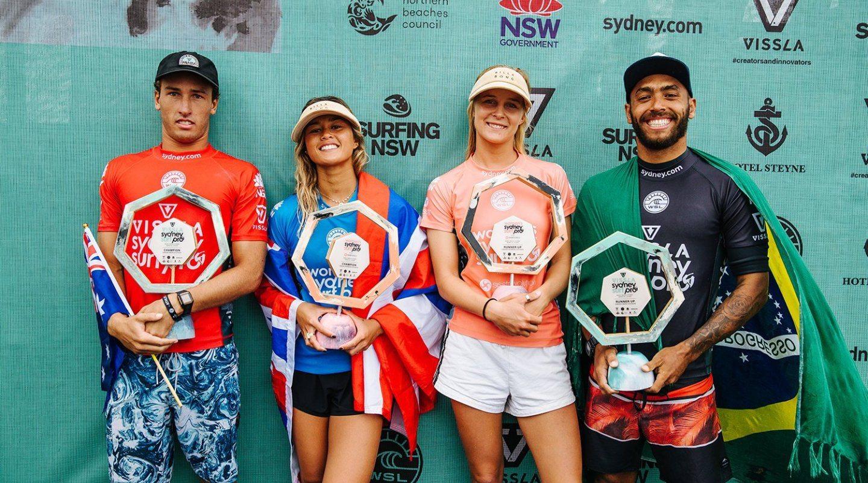 VISSLA Sydney Surf Pro winners
