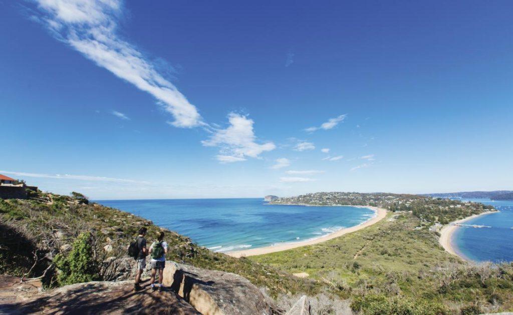 Palm Beach in Sydney's Northern Beaches
