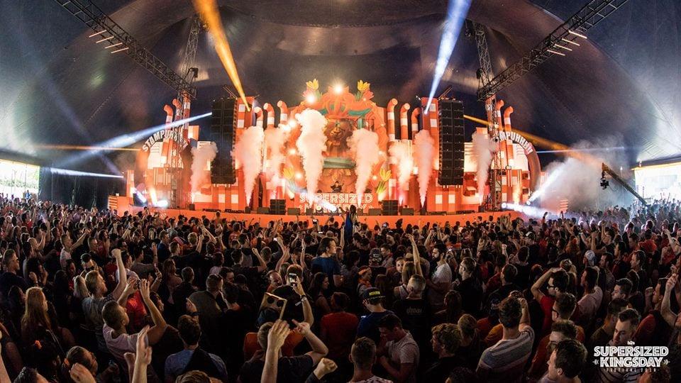 supersized kings day 2019 in best, Netherlands