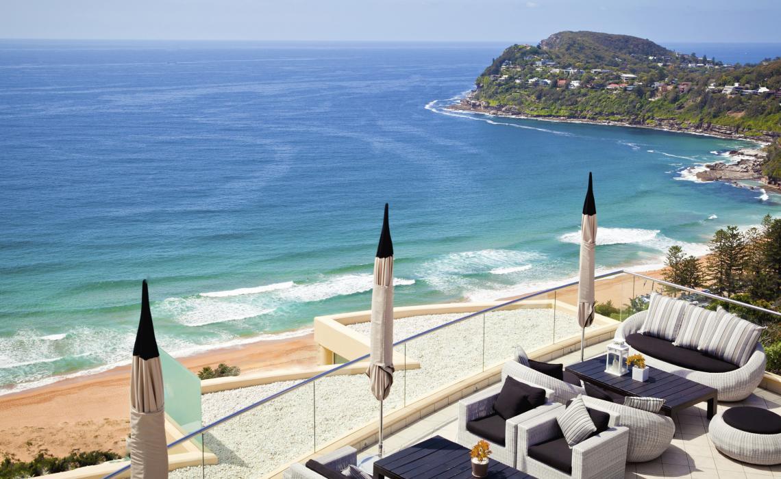 Sydney's northern beaches in NSW, Australia