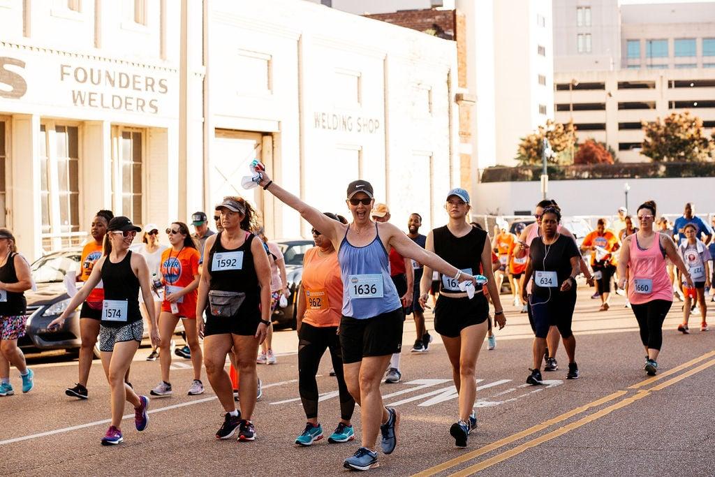 fun run in Memphis