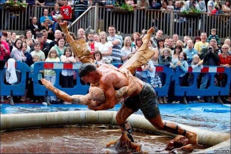 World Gravy Wrestling Championship in England