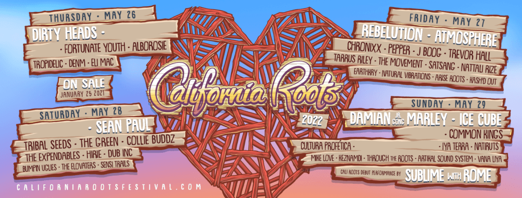 California Roots Festival 2022 Lineup