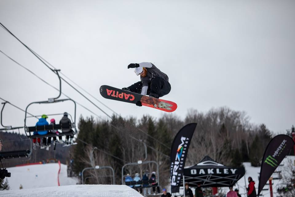 Hunter Mountain snowboarding