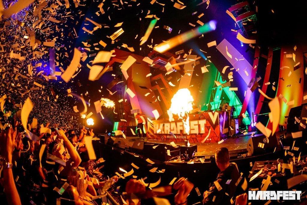 HARDFEST kings day festival in the Netherlands