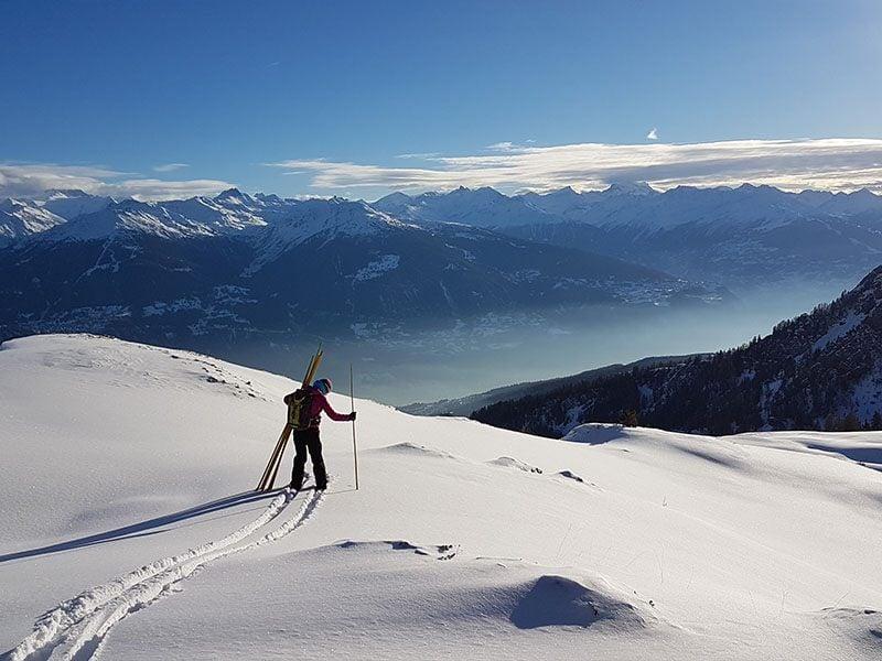 Heli-Skiing in Switzerland