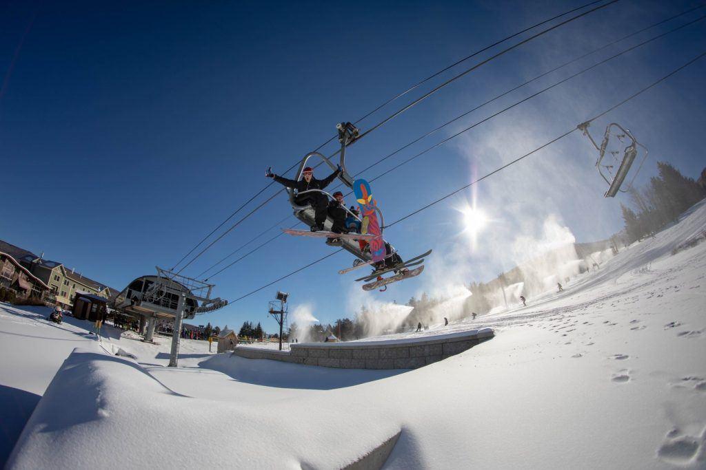 Hunter Mountain Ski Resort in Upstate New York