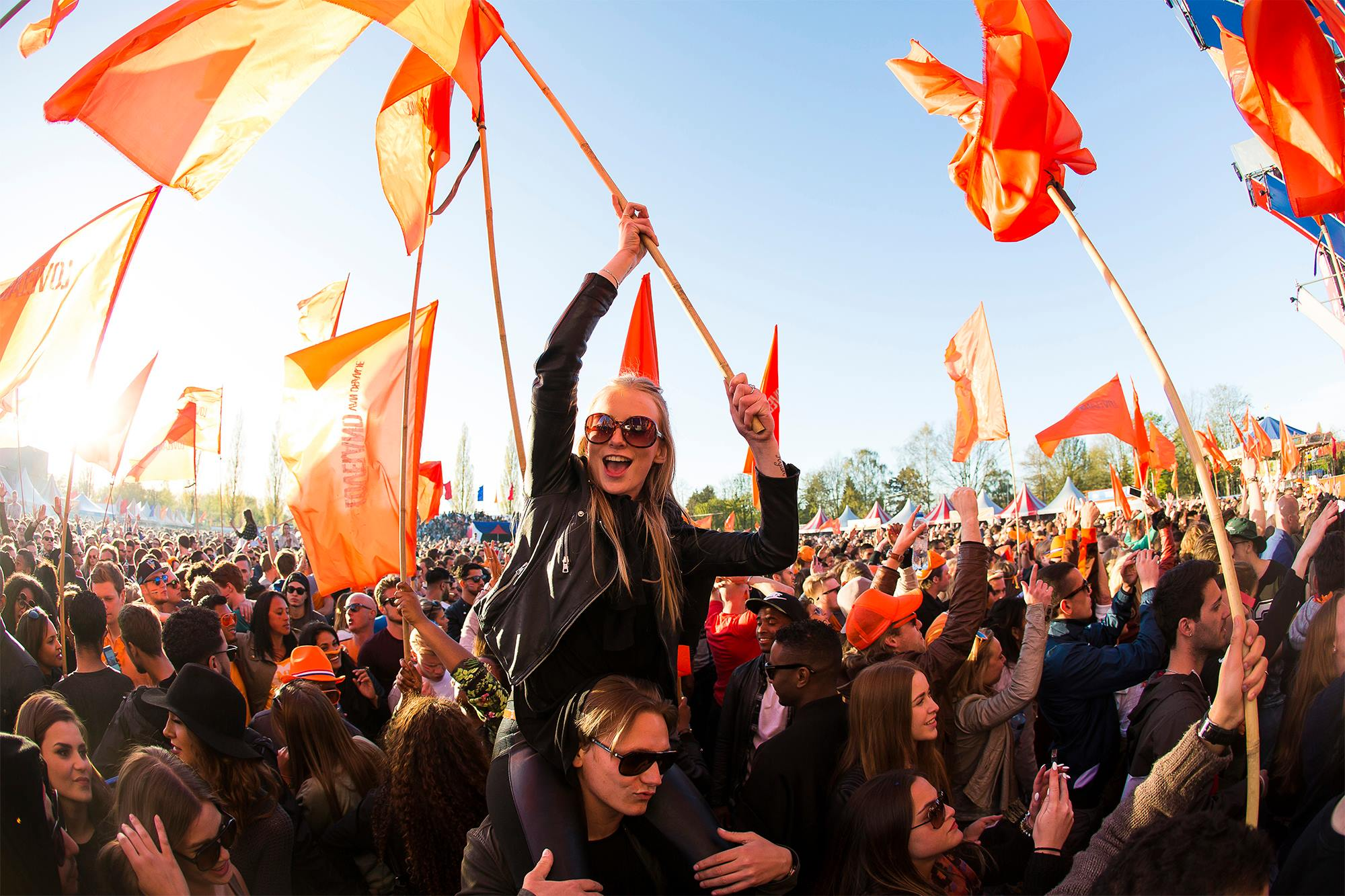 Kings day Celebrations in the netherlands