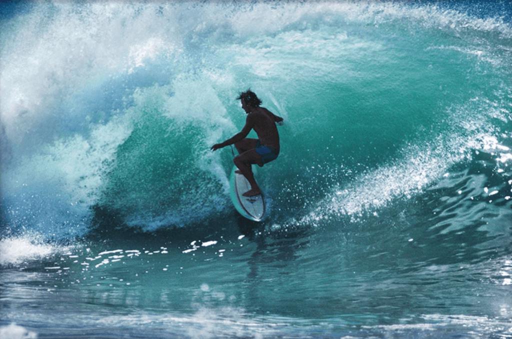 Simon Anderson Surfing
