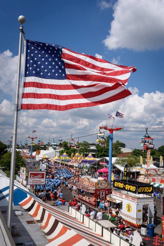 Fairground at Ohio State Fair