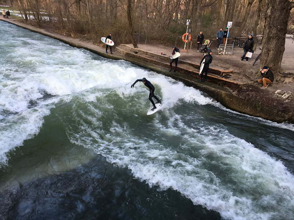 Surfing the River one of the best things to do in Munich